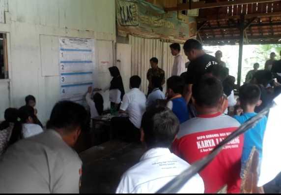 Perolehan Suara Sementara Pilkades 8 Desa di Kecamatan Plantungan